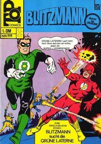 Cover Thumbnail for Top Comics Blitzmann (BSV - Williams, 1970 series) #111