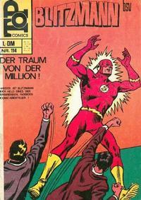 Cover Thumbnail for Top Comics Blitzmann (BSV - Williams, 1970 series) #114