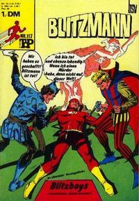 Cover Thumbnail for Top Comics Blitzmann (BSV - Williams, 1970 series) #117