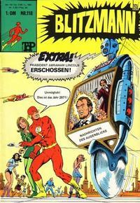 Cover Thumbnail for Top Comics Blitzmann (BSV - Williams, 1970 series) #118