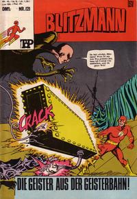 Cover Thumbnail for Top Comics Blitzmann (BSV - Williams, 1970 series) #121