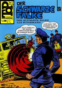 Cover Thumbnail for Top Comics Der Schwarze Falke (BSV - Williams, 1970 series) #101