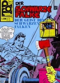 Cover Thumbnail for Top Comics Der Schwarze Falke (BSV - Williams, 1970 series) #102