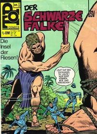 Cover Thumbnail for Top Comics Der Schwarze Falke (BSV - Williams, 1970 series) #105