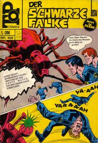 Cover Thumbnail for Top Comics Der Schwarze Falke (BSV - Williams, 1970 series) #109