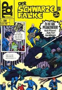 Cover Thumbnail for Top Comics Der Schwarze Falke (BSV - Williams, 1970 series) #110
