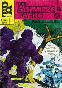 Cover Thumbnail for Top Comics Der Schwarze Falke (BSV - Williams, 1970 series) #111