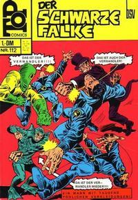 Cover Thumbnail for Top Comics Der Schwarze Falke (BSV - Williams, 1970 series) #112