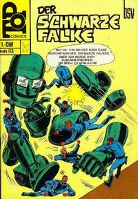 Cover Thumbnail for Top Comics Der Schwarze Falke (BSV - Williams, 1970 series) #113