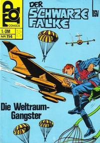 Cover Thumbnail for Top Comics Der Schwarze Falke (BSV - Williams, 1970 series) #114