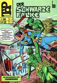 Cover Thumbnail for Top Comics Der Schwarze Falke (BSV - Williams, 1970 series) #116