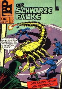 Cover Thumbnail for Top Comics Der Schwarze Falke (BSV - Williams, 1970 series) #117