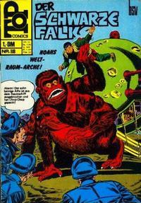 Cover Thumbnail for Top Comics Der Schwarze Falke (BSV - Williams, 1970 series) #118