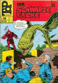 Cover Thumbnail for Top Comics Der Schwarze Falke (BSV - Williams, 1970 series) #119