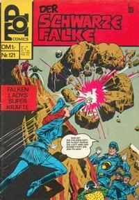 Cover Thumbnail for Top Comics Der Schwarze Falke (BSV - Williams, 1970 series) #121