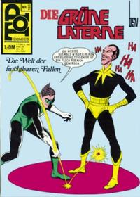 Cover Thumbnail for Top Comics Die Grüne Laterne (BSV - Williams, 1970 series) #105