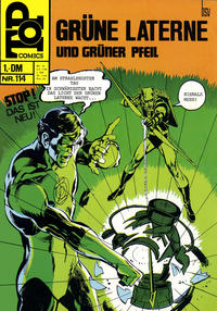 Cover Thumbnail for Top Comics Die Grüne Laterne (BSV - Williams, 1970 series) #114