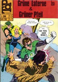 Cover Thumbnail for Top Comics Die Grüne Laterne (BSV - Williams, 1970 series) #116