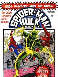 Cover Thumbnail for Spider-Man and Hulk Weekly (Marvel UK, 1980 series) #407
