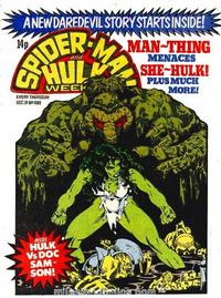 Cover Thumbnail for Spider-Man and Hulk Weekly (Marvel UK, 1980 series) #408