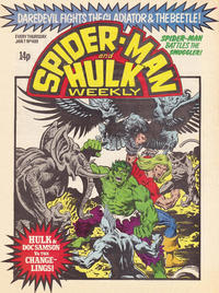 Cover Thumbnail for Spider-Man and Hulk Weekly (Marvel UK, 1980 series) #409