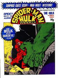 Cover Thumbnail for Spider-Man and Hulk Weekly (Marvel UK, 1980 series) #412