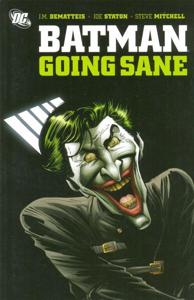 Cover for Batman: Going Sane (DC, 2008 series)