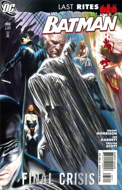 Cover for Batman (DC, 1940 series) #683 [Tony Daniel Variant Cover]