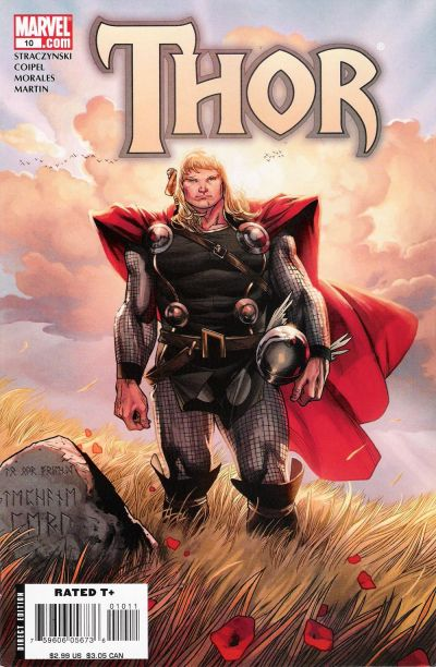 Cover for Thor (Marvel, 2007 series) #10
