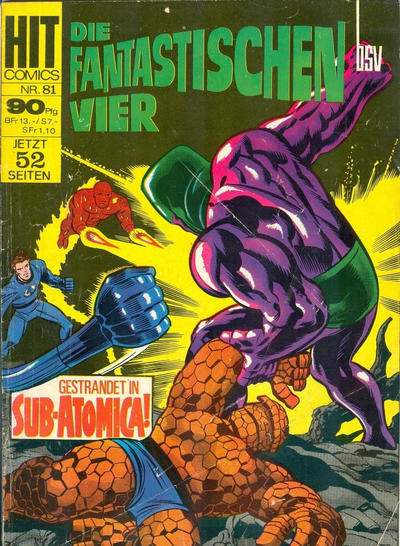 Cover for Hit Comics (BSV - Williams, 1966 series) #81
