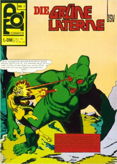 Cover for Top Comics (BSV - Williams, 1969 series) #3