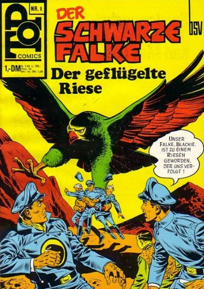 Cover for Top Comics (BSV - Williams, 1969 series) #5