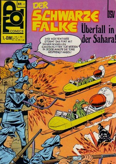 Cover for Top Comics (BSV - Williams, 1969 series) #17