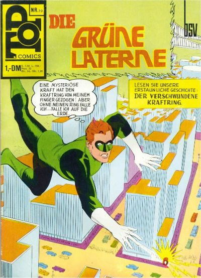 Cover for Top Comics (BSV - Williams, 1969 series) #19