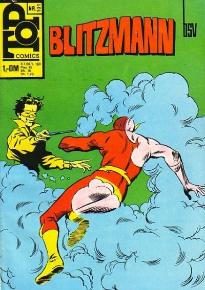 Cover for Top Comics Blitzmann (BSV - Williams, 1970 series) #101