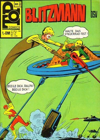 Cover for Top Comics Blitzmann (BSV - Williams, 1970 series) #102