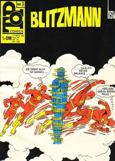 Cover for Top Comics Blitzmann (BSV - Williams, 1970 series) #104