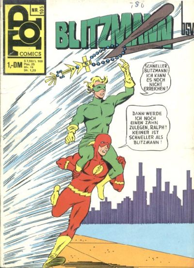Cover for Top Comics Blitzmann (BSV - Williams, 1970 series) #105