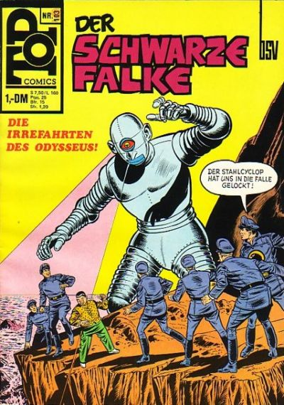 Cover for Top Comics Der Schwarze Falke (BSV - Williams, 1970 series) #103