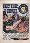 Cover for Lucky Fights It Through (EC, 1949 series) #[nn]