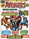 Cover for The Avengers (Marvel UK, 1973 series) #1