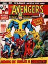 Cover for The Avengers (Marvel UK, 1973 series) #25
