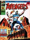 Cover for The Avengers (Marvel UK, 1973 series) #92