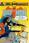 Cover for Batman Sonderheft (Egmont Ehapa, 1976 series) #27
