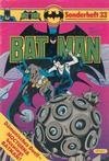 Cover for Batman Sonderheft (Egmont Ehapa, 1976 series) #33