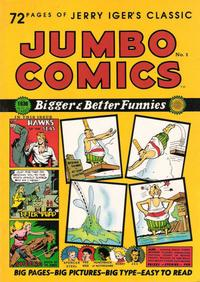 Cover Thumbnail for Jerry Iger's Classic Jumbo Comics (Blackthorne, 1985 series) #1