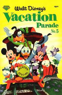 Cover Thumbnail for Walt Disney's Vacation Parade (Gemstone, 2004 series) #5