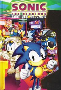 Cover Thumbnail for Sonic the Hedgehog Archives (Archie, 2006 series) #5
