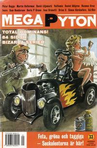 Cover Thumbnail for Mega Pyton (Atlantic Förlags AB, 1992 series) #1/1999 (33)