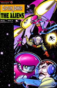 Cover for Captain Johner & the Aliens (Acclaim / Valiant, 1995 series) #2